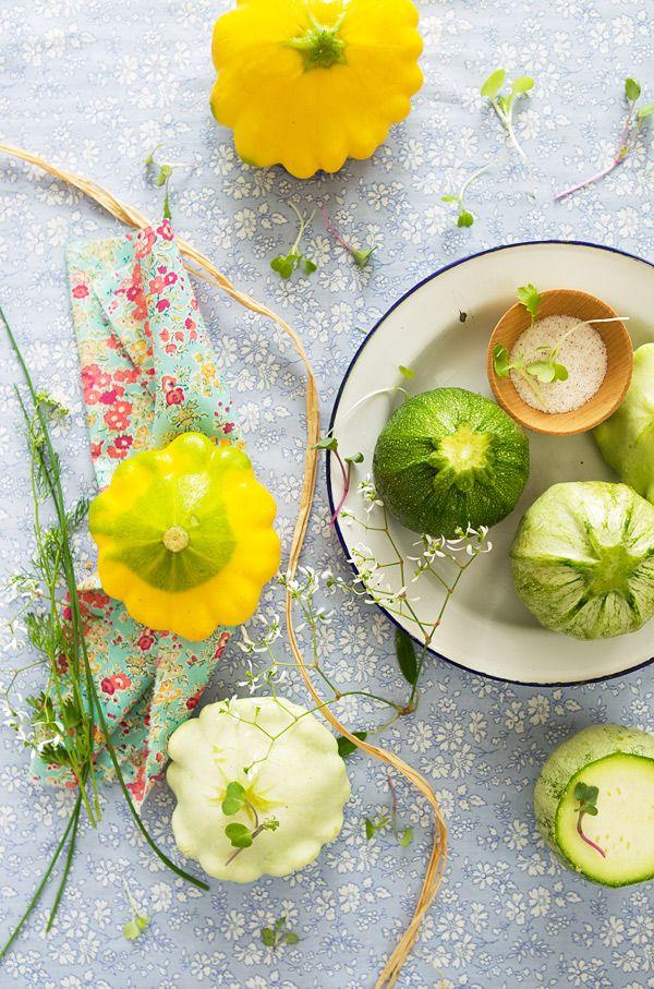 patty pan squashes - La Tartine Gourmande
