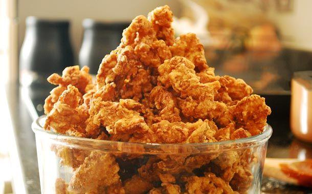 Frango frito japonês