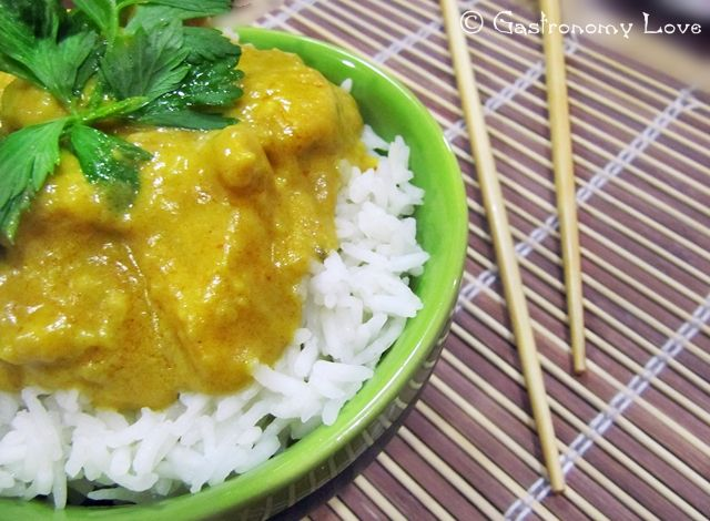 Pollo Thai al Curry Giallo | Gastronomy Love