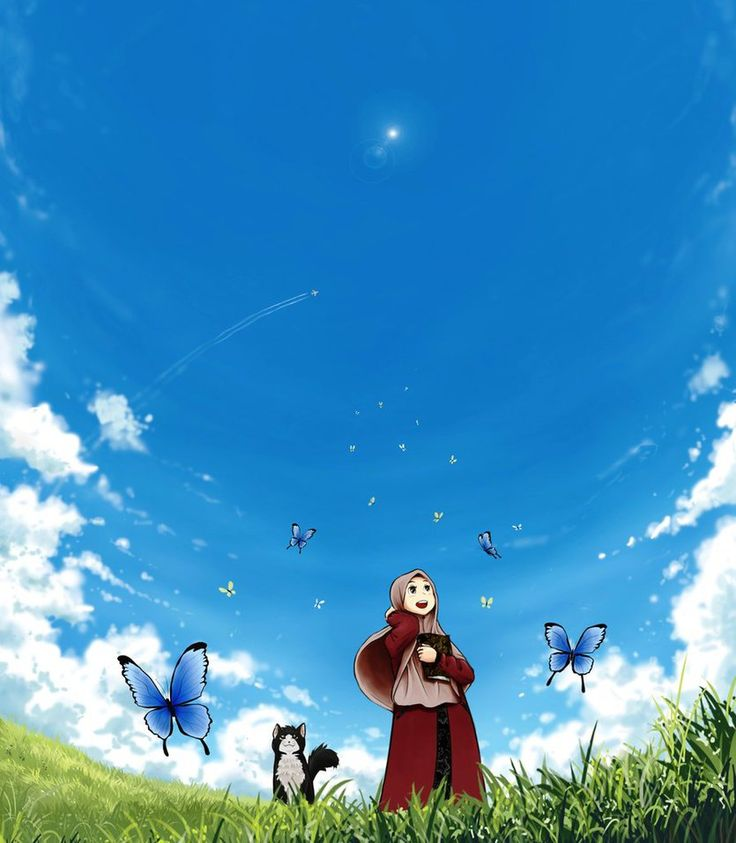 Sunny Day and Butterflies by walad-43 on DeviantArt