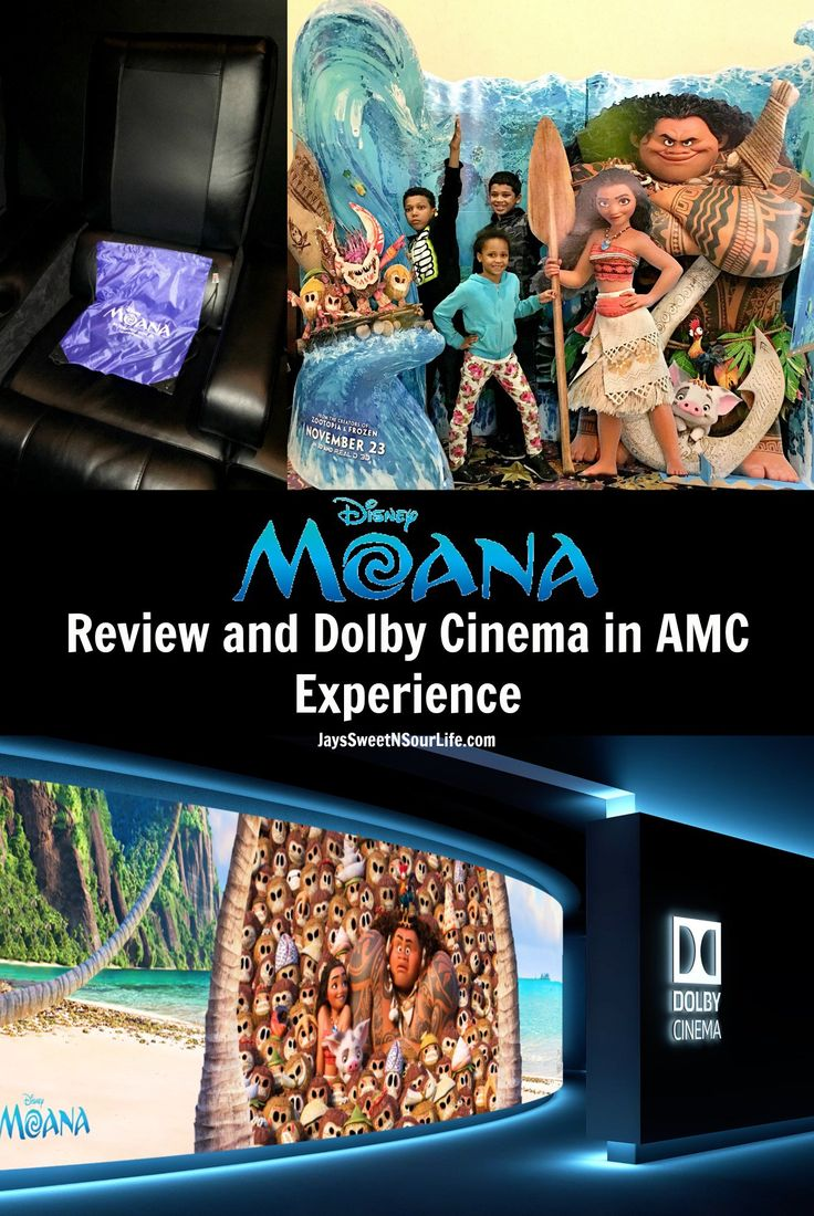 Disney's Moana Movie Review and Dolby Cinema in AMC Theatres Experience The Ocean Is Calling, Discover Disney's Moana in Dolby Cinema at AMC. Read my full movie review and Dolby Cinema at AMC experience.  #Moana #disneyside #hosted #disney #movie #moviereview #movies #shareAMC #DolbyCinema #review #travel #traveler #sea #ocean #boat #moviewreviews #disneymovies #family #familyfriendly #fun