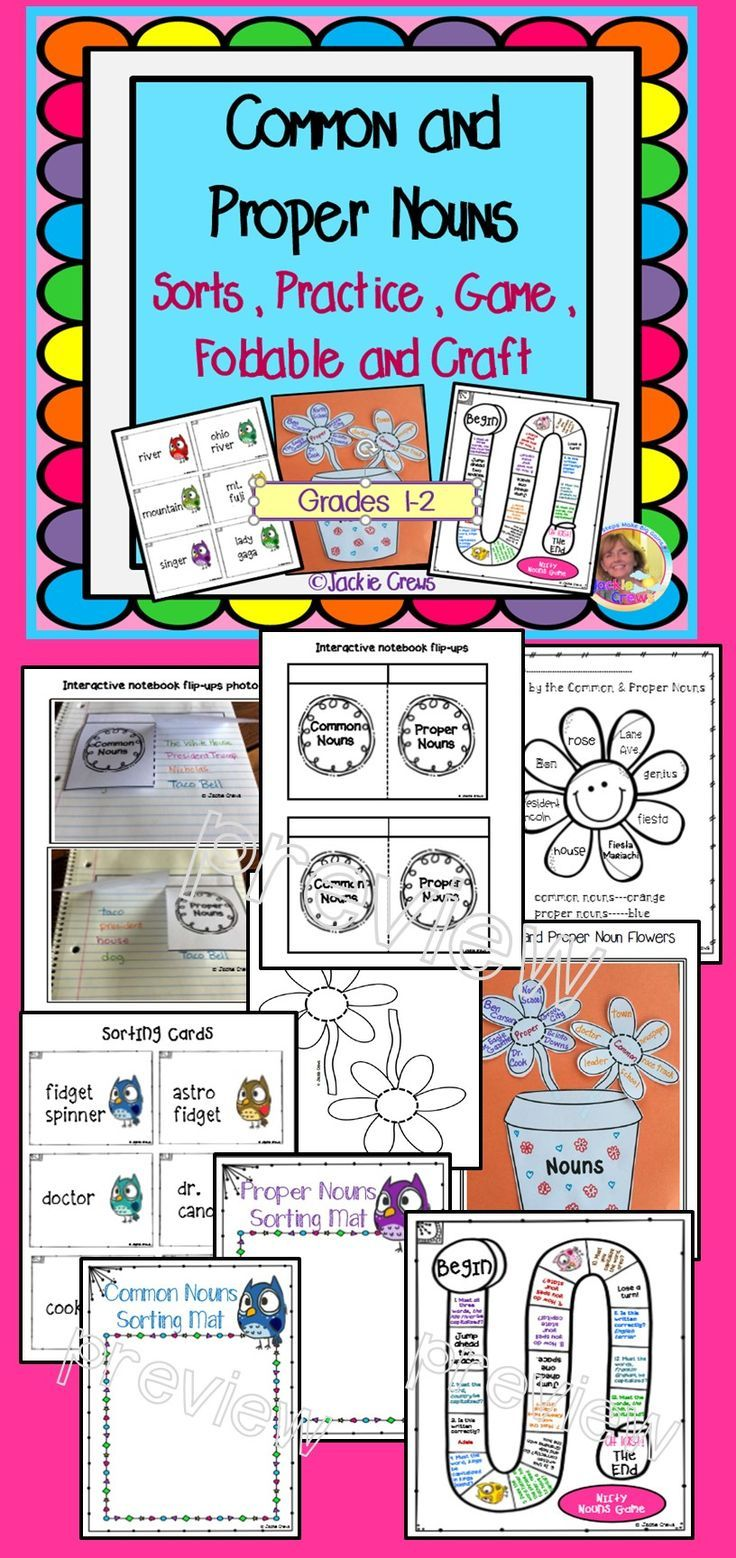 Fancy Color Code Book 99 Common and Proper Nouns