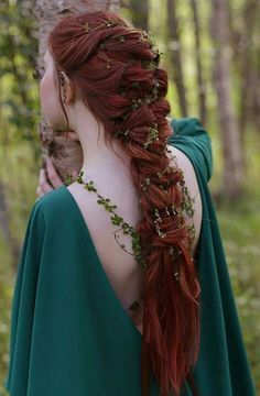 Image result for medieval hairstyles female long hair – #Female #Hair #Hairstyle…
