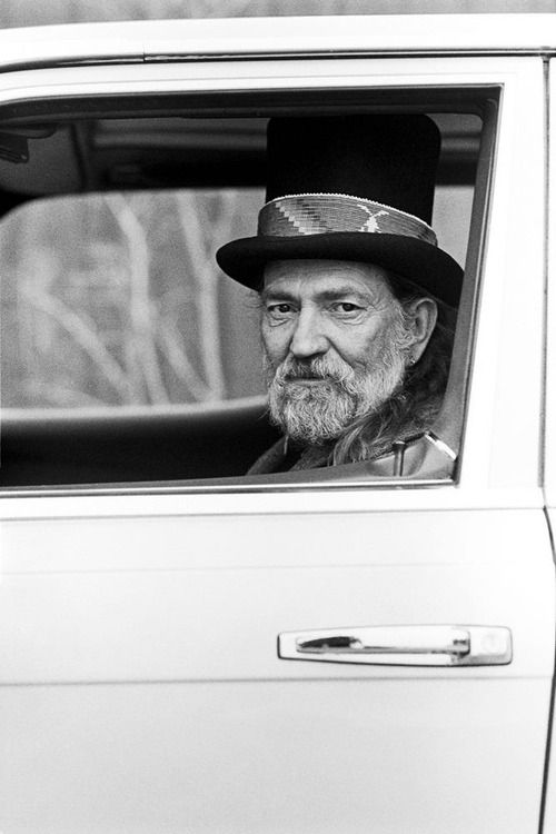 """""""Be here. Be present. Wherever you are, be there."""" Willie Nelson"""