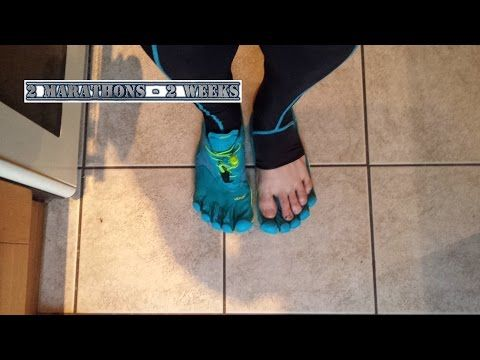 how to run in vibram five fingers youtube