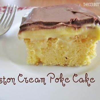 Boston Cream Poke Cake Recipe - ZipList