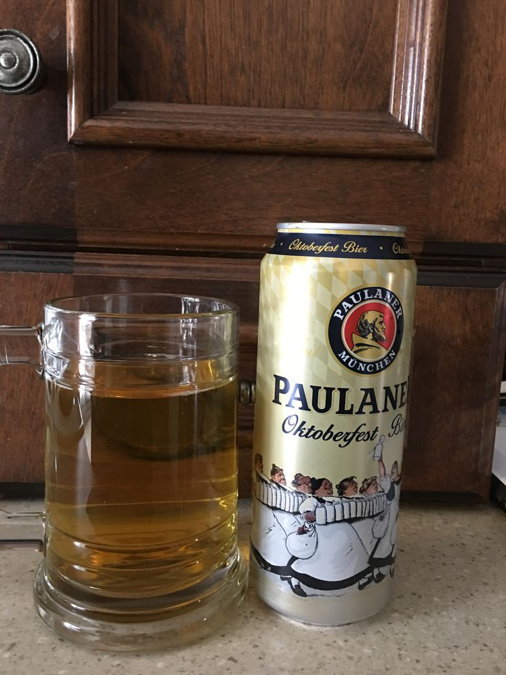 Paulaner Oktoberfest Bier à 6% par Paulane Munchen via la SAQ. 3.5/5