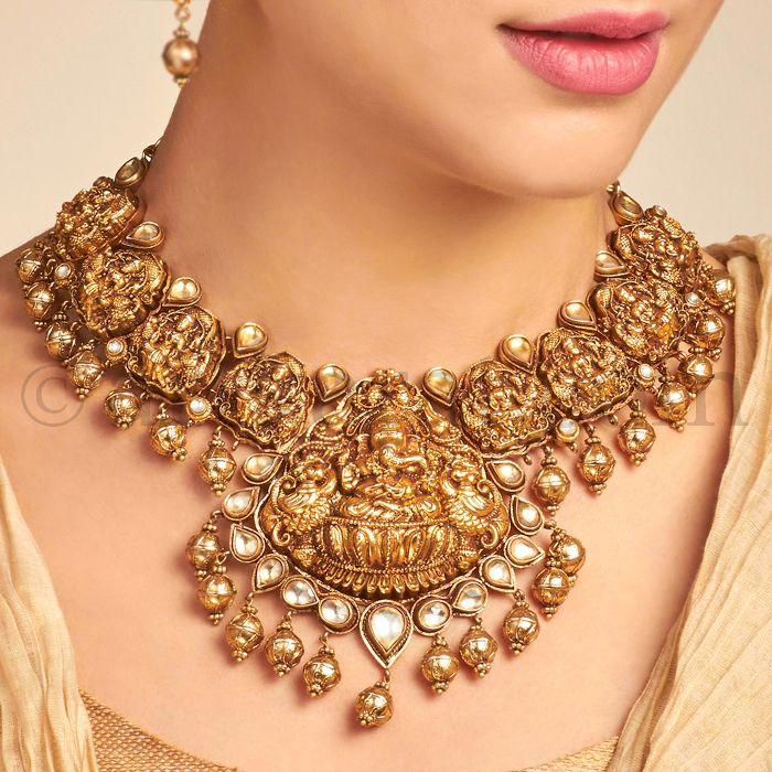 The 25 Best Temple Jewellery Ideas On Pinterest Indian