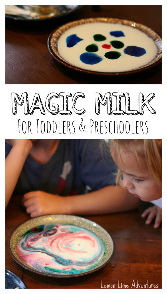 Simple Science for Toddlers and Preschoolers | Magic Milk with Dishsoap #Palmolive25Ways  #shop