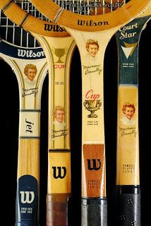 procoleccionismo: Una colección de raquetas de tenis