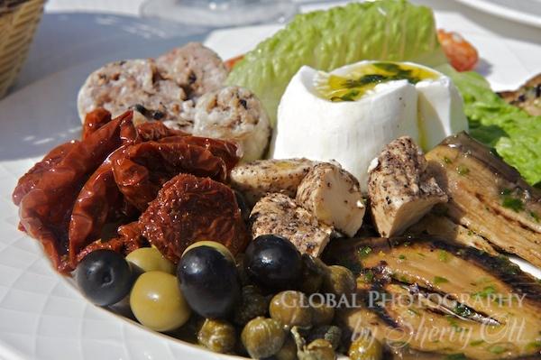 A delicious Mediterranean platter of Maltese goodness.