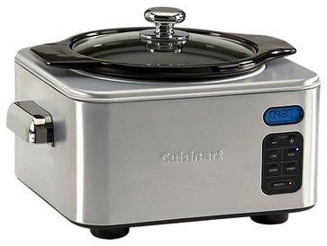 Cuisinart 4-qt. Digital Slow Cooker modern slow cookers