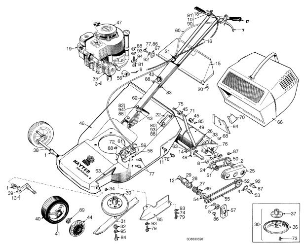 harrier engine diagram 10+ images about hayter harrier 2/19 spares on pinterest ... 1999 saturn sl engine diagram engine cooling module