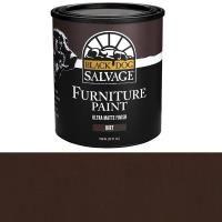 Черная собака Поврежденный 'Грязь' - Браун Мебель Краска Quart
