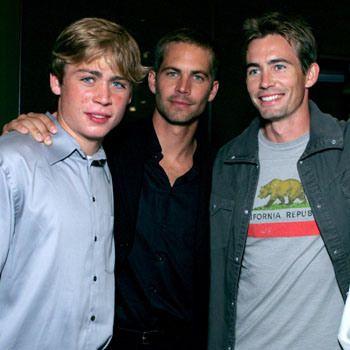 Cody Walker, Paul Walker and Caleb Walker