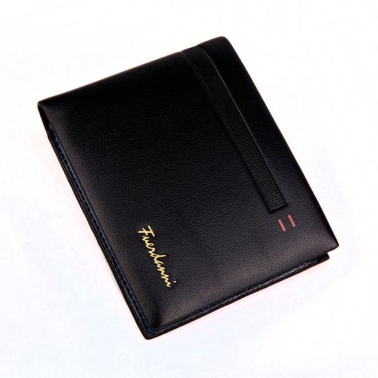 Brand new Luxury Business Bifold Wallets Men Leather Card Cash Receipt Holders Organizer Purse Card&ID Holders Gift 1pcs