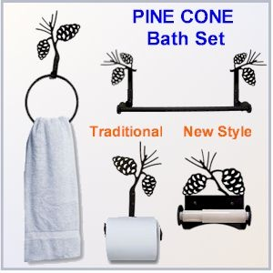17 Best Images About Pine Cone Bathroom On Pinterest Bathrooms Decor Raising And Rustic