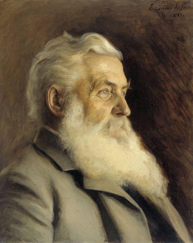 """Portrait of Mr. Ahngren"" - ""Herra Ahngerin muotokuva"", 1893, Eero Järnefelt -oil - Ateneum"