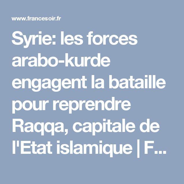 Syrie: les forces arabo-kurde engagent la bataille pour reprendre Raqqa, capitale de l'Etat islamique | FranceSoir
