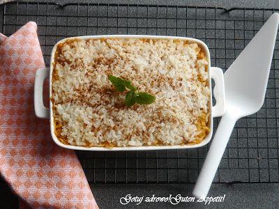 Gotuj zdrowo!Guten Appetit!: Ryż zapiekany z jabłkami i cynamonem
