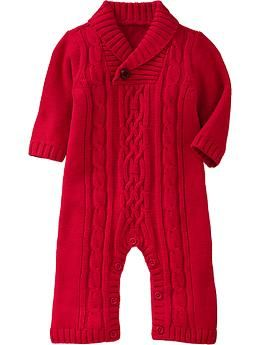 Cable-Knit Sweater One-Pieces for Baby | Old Navy. I want one of these in my size!!