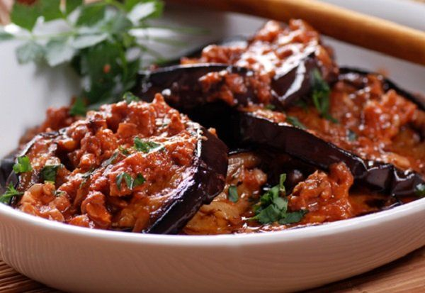 طريقة عمل المسقعة المصرية بدون لحم طريقة Recipe Egyptian Food Recipes Vegetarian Diet
