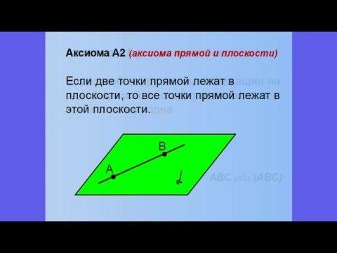 Всего за 9 минут, без воды вы получите базовые знания по стереометрии - три аксиомы стереометрии, две теоремы. Также на уроке рассмотрены две типовые задачи.