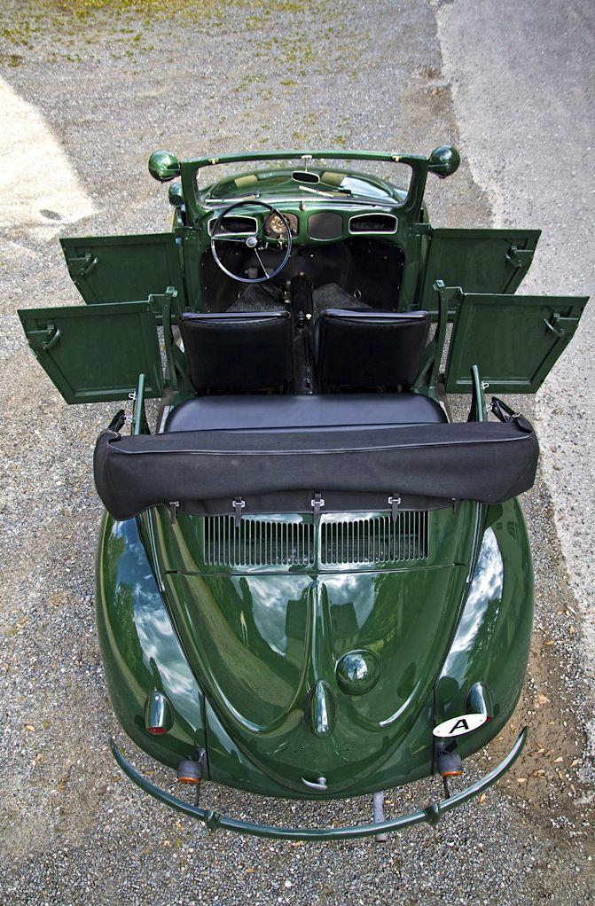1949 VW Kaefer Polizei Cabrio