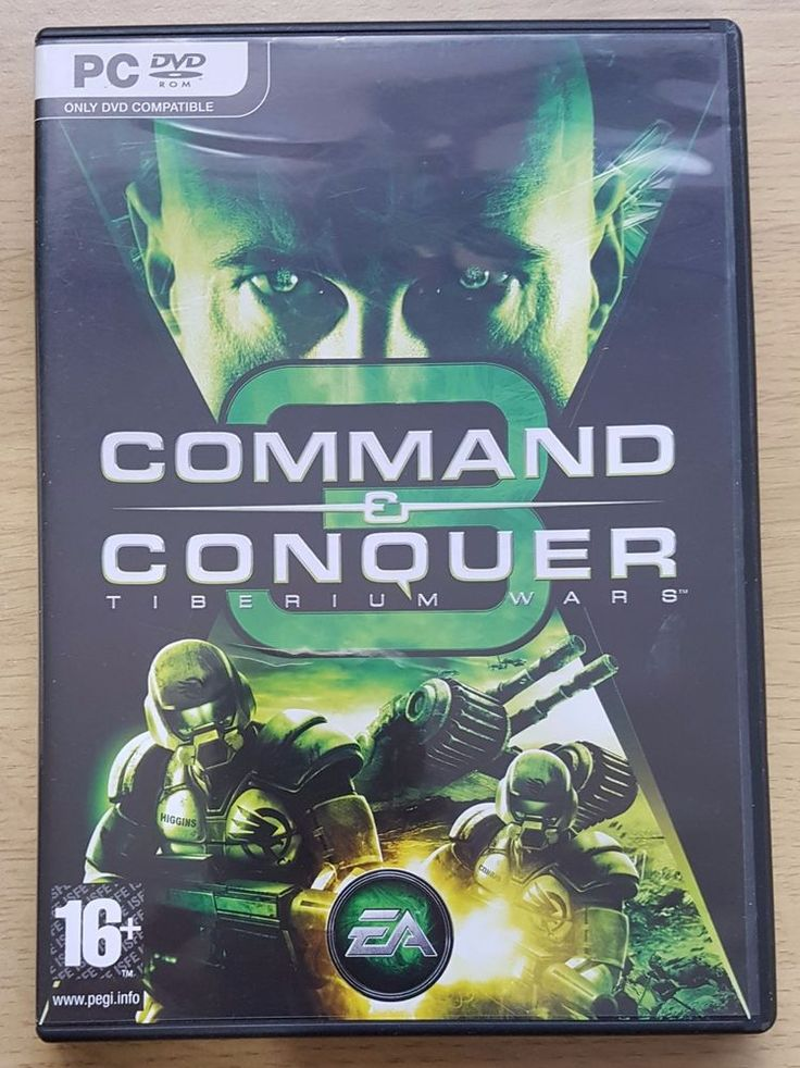 Command and Conquer 3 Tiberium Wars PC DVD-ROM Game