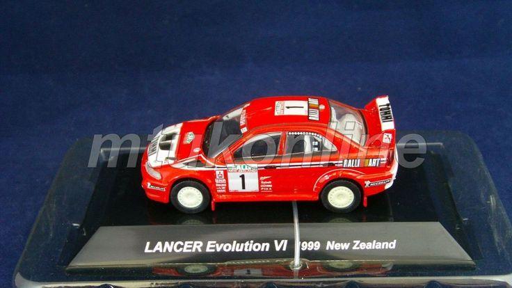 CM S RALLY CAR COLLECTION | SS2 | MITSUBISHI LANCER EVO VI | 1999 NEW ZEALAND