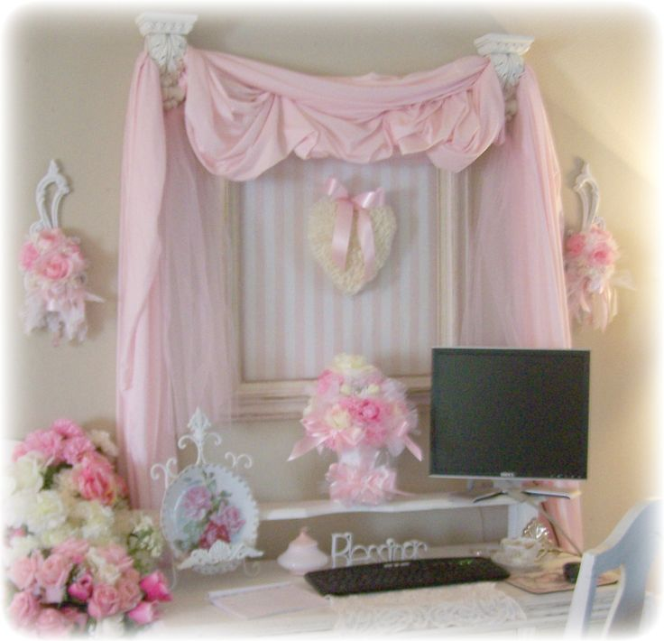 Romantic Shabby Chic Decor | Shabby Chic Office