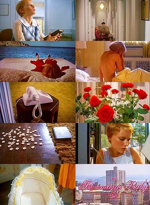 Images from the movie adaptation of Rosemary's Baby. A TV miniseries also based on Ira Levin's novel is premiering on Mother's Day. http://www.openroadmedia.com/rosemarys-baby