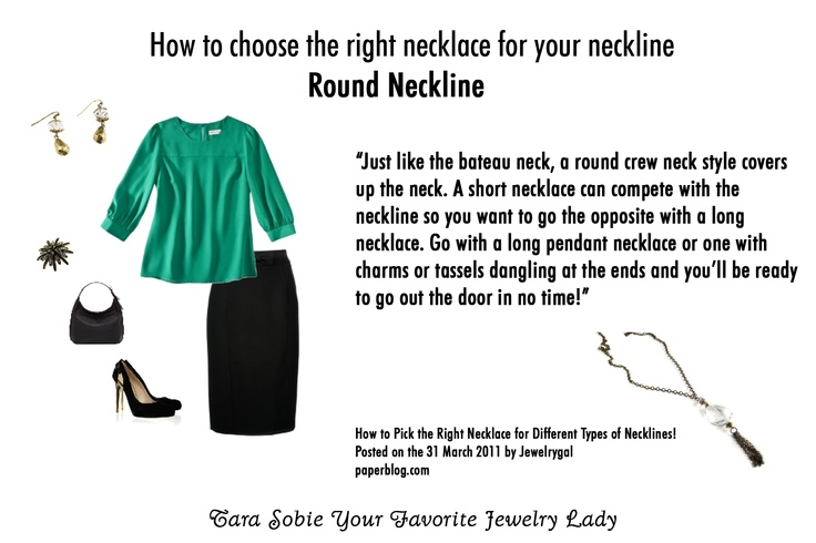 173 best Necklines and Necklaces images on Pinterest ...