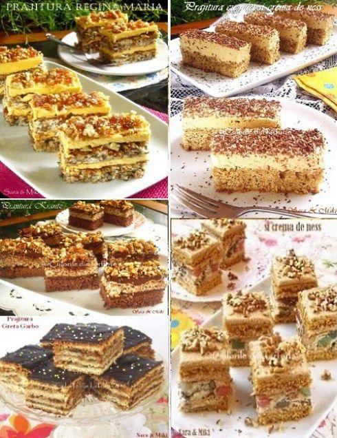 Ingrediente blat de biscuiti: * 200 g de biscuiti Petit Beurre * 100 g unt