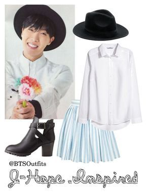 """J-Hope Inspired"" by btsoutfits ❤ liked on Polyvore featuring H&M and Charlotte Russe"