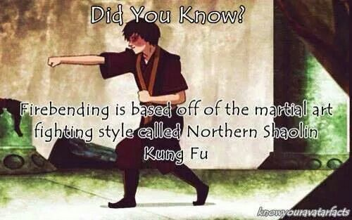 Did you know? Avatar: The Last Airbender/Legend of Kora