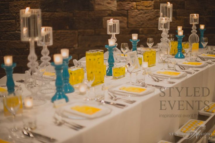 BRIDAL SHOWER ELEGANCE Styled Events at The Brisbane Polo Club [Studio Impressions Photography] #styledevents #furniturehire #brisbaneevents #queensland #events #eventstyling #bridalshower #summerweddings #aqua #yellow
