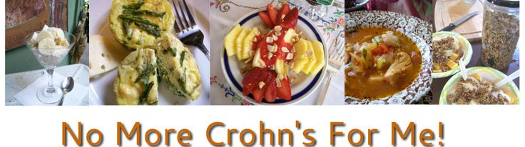 No More Crohn's For Me - Blog - These wonderful recipes for  Crohn's Disease also treat other diseases & conditions such as Ulcerative Colitis, Celiac Disease, Diverticulitis, Colitis, Autism, Cystic Fibrosis & IBS.