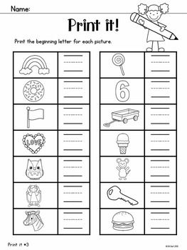 Beginning Sounds $