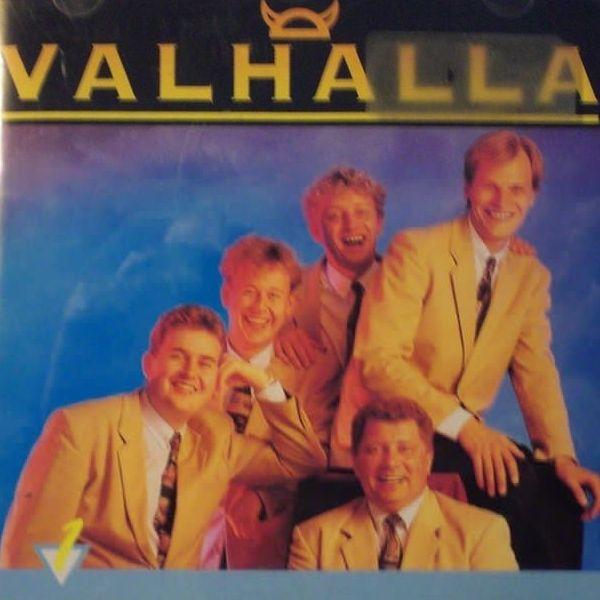 """CD med Valhalla. Inklussiv dansk version af sangen """"100 %"""" fra Svensk Grand Prix 1988."""