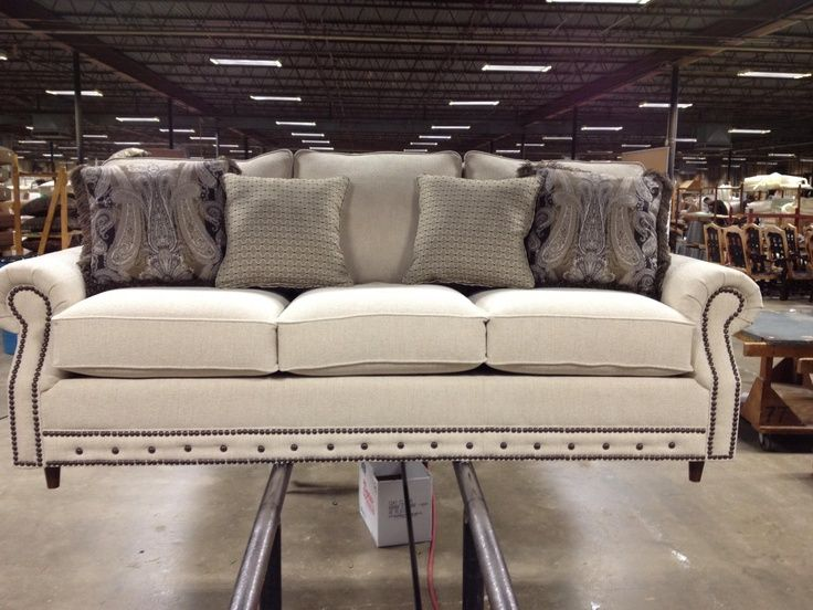 Hot Off The Press Is A Customers Special Ordered Sofa At The Mayo Factory  In Texarkana