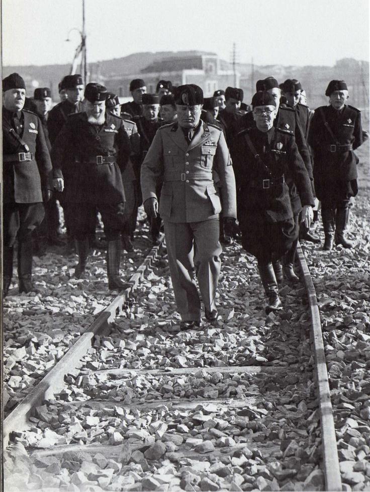 Benito Mussolini 16 febbraio 1937