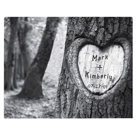 Personalized Love Tree Canvas Print