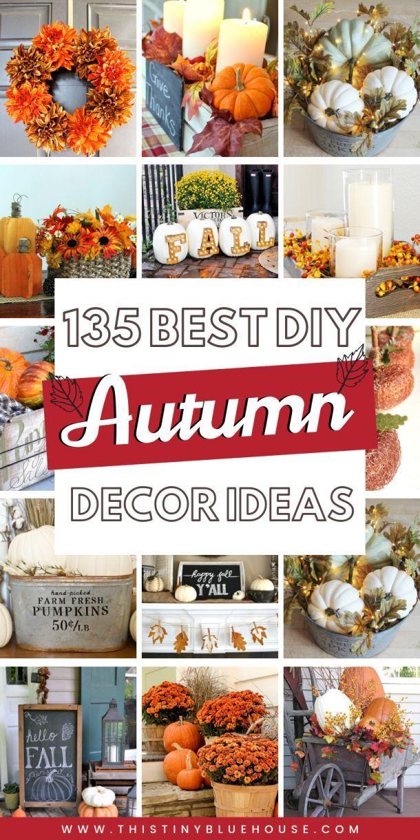 130+ Best DIY Fall Decor Ideas