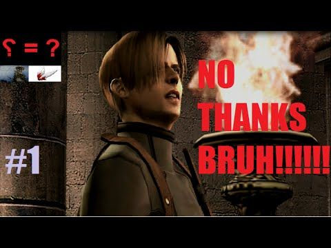 Series Playthrough: Resident Evil 4 Part 1: Shove The Merchant In Everywhere - YouTube