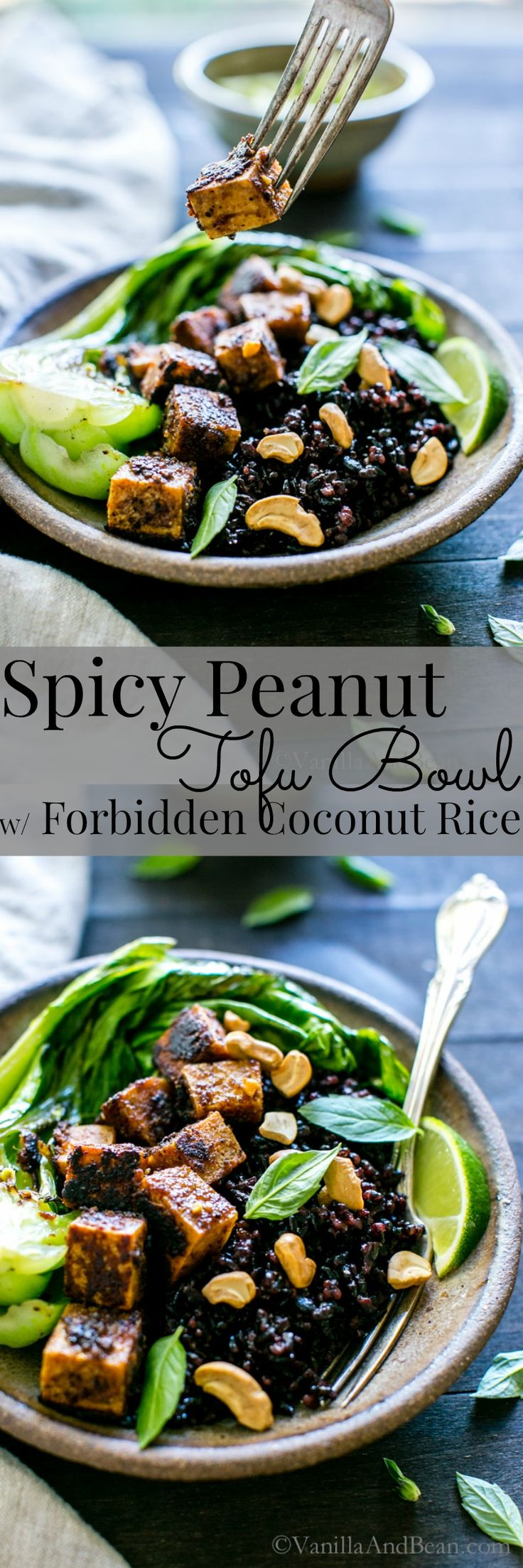 Thai-inspired flavors come together in this hearty and nourishing bowl. | Vegan + GF