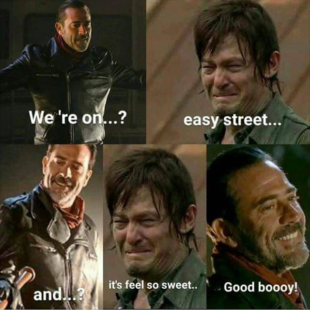 TWD-That song! It's been over a week and it's STILL in my head
