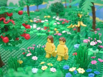 Les histoires de la bible en LEGO | Retrouvez toutes les histoires de la bible ilustrées avec des photos de LEGO. Lien du site. Il est possible de télécharger les images et en faire un power point