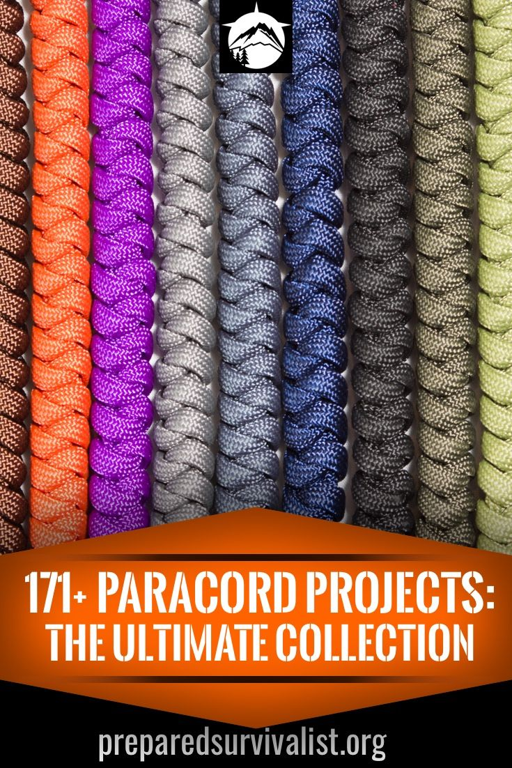 171 Paracord Projects The Ultimate Collection Paracord Diy