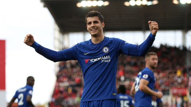 Chelsea striker Alvaro Morata 'very happy with everything in London' #News #ÁlvaroMorata #Chelsea #Football #PremierLeague